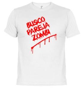Camiseta 1 zombi planet