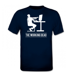 Camiseta 3 zombi planet
