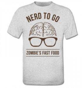 Camiseta 4 zombi planet