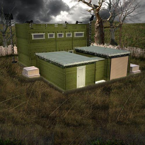 Casa antizombi zombiplanet
