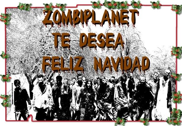 Postal navidad zombi